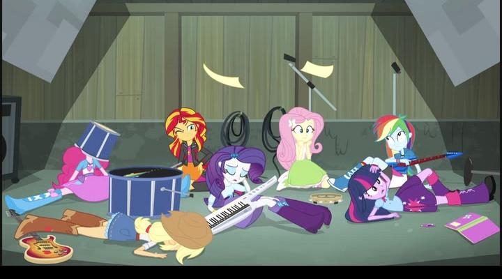 Мой маленький пони: девочки из эквестрии — радужный рок (2014.