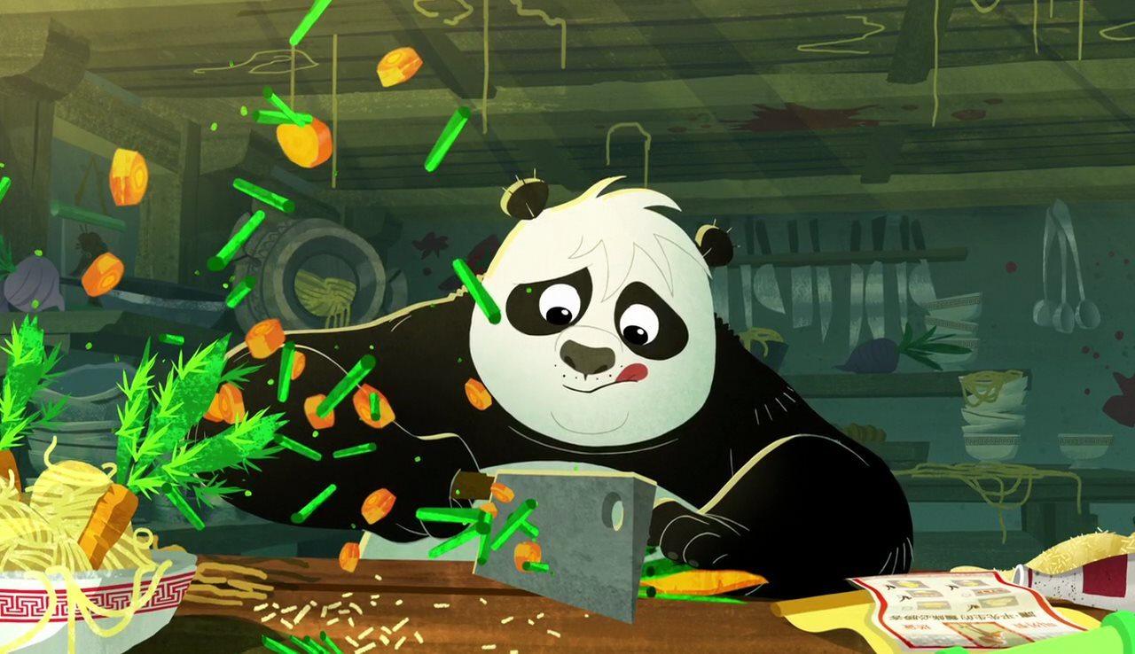Скачать торрент кунг фу панда загадки свитка.