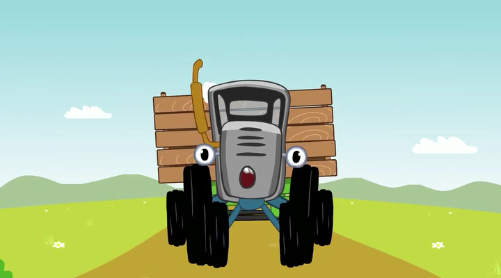 Мультфильм едет трактор по полям скачать торрент.